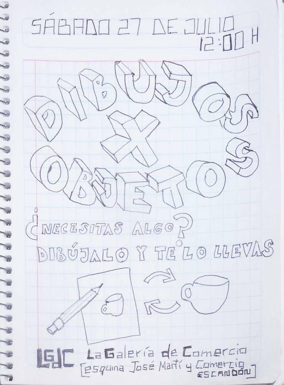Dibujo X Objeto