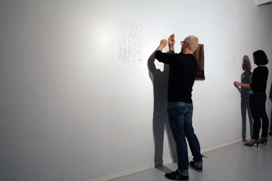Conservación I, 2014. Performance realizada por los coleccionistas Antonio Lobo y Mónica García.